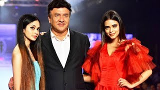 Anu Malik Ramp Walk With Daughter Ada Malik At Bombay Times Fashion Week 2018
