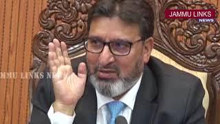 Be accessible for guidance; Altaf Bukhari appeals retiring stalwarts