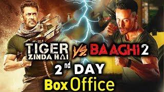 Tiger Zinda Hai Vs BAAGHI 2 | DAY 2 BOX OFFICE | Salman Khan Vs Tiger Shroff
