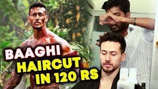 Tiger Shroff BAAGHI 2 Haircut - बन जाओ 120 Rs में Tiger Shroff