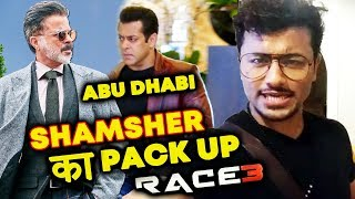 RACE 3 WRAP UP For Anil Kapoor In Abu Dhabi | RACE 3 CLIMAX SCENE