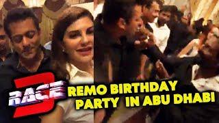 Race 3 Team Celebrates Remo D'Souza Birthday In Abu Dhabi | Salman Khan, Jacqueline Fernandez