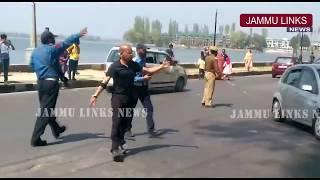 Basant Rath begins traffic management in Kashmir