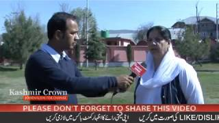 Interview with Nayeema Mehjoor- Chairperson of State Commission for Women J&K