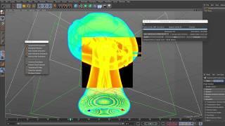 Tutorial on creating Smoke in TurbulenceFD C4D t