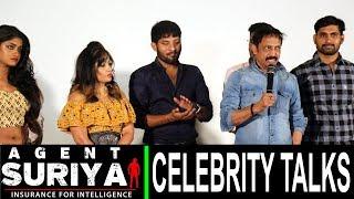 agent suriya primiere show  public talk | agent suriya celebrity bytes | rectv india