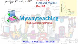 Chemistry Class 11 Chapter 5 Part 9|STATES OF MATTER|