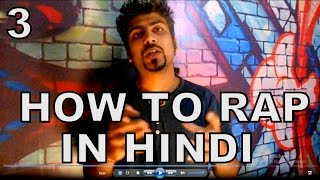 HOW TO RAP IN HINDI - Words Compare & Rap Beats | How To Rap in Hindi | GURU BHAI (RAPPER)