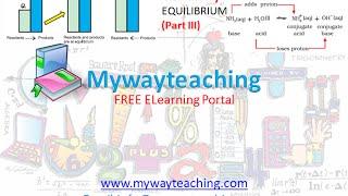 Chemistry Class 11 Chapter 7 Part 3 EQUILIBRIUM online class 