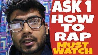 Q&A | HowtoRap | Hindi | Ep-1 | Recordings | FL Studio | Motivation | About etc | GURU BHAI