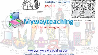 Science Class 7 Chapter 1 Part 1|Nutrition in plant|Science  Chapter 1 for Class 7|