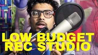 Very Low Budget Home Recording Studio for Persnal Use in HINDI | GURU BHAI RAPPER | HOWTORAP
