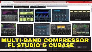 What is Multi-band Compression in FL STUDIO & CUBASE vst