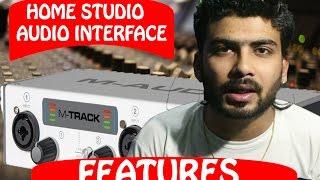 HOWTORAP | M AUDIO M TRACK TWO Features HINDI Audio Interface | HOME RECORDING STUDIO