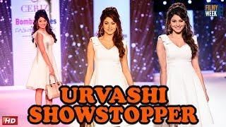 Hot Urvashi Rauetla Showstopper : Bombay Times Fashion Week