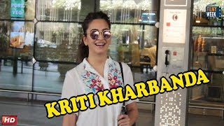 Kriti Kharbanda Spotted at Airport
