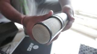 AKG P220 | Vocals Recording Microphone | Unbox | HINDI VIDEO } GURU BHAI STUDIO