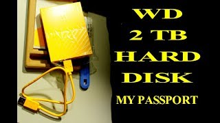 WD 2TB My Passport External Hardisk Unbox + Connect in HINDI by GURU BHAI