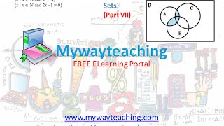 Math Class 11 Chapter 1 Part 7|Sets|sets for class 11|