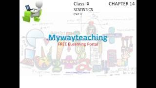 Math Class 9 Chapter 14 Part I|STATISTICS|STATISTICS for class 9|
