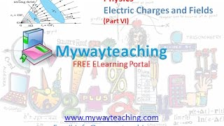 Physics class 12 Chapter 1 Part 6|Electric Charges and Fields |Physics Chapter 1 for Class 12|
