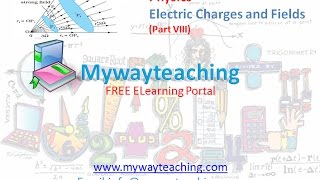 Physics class 12 Chapter 1 Part 8|Electric Charges and Fields |Physics Chapter 1 for Class 12|