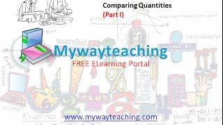Math Class 7 Chapter 8 Part I| Comparing Quantities | Comparing Quantities for class 7|