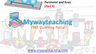 Math Class 7 Chapter 11 Part X|Perimeter and area| Perimeter and area for class 7|