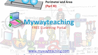 Math Class 7 Chapter 11 Part XI|Perimeter and area| Perimeter and area for class 7|