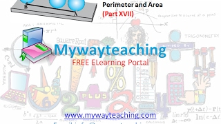 Math Class 7 Chapter 11 Part XVII|Perimeter and area| Perimeter and area for class 7|