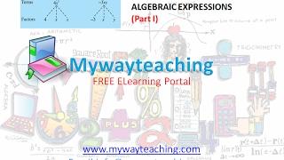Math Class 7 Chapter 12 Part I|ALGEBRAIC EXPRESSIONS| ALGEBRAIC EXPRESSIONS for class 7|