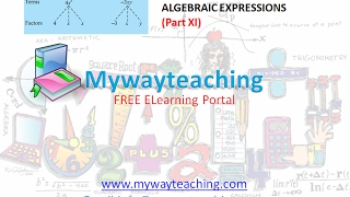 Math Class 7 Chapter 12 Part XI|ALGEBRAIC EXPRESSIONS| ALGEBRAIC EXPRESSIONS for class 7|