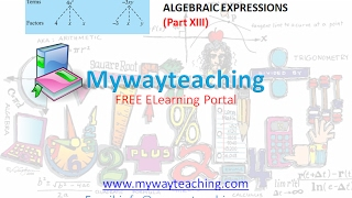 Math Class 7 Chapter 12 Part XIII|ALGEBRAIC EXPRESSIONS| ALGEBRAIC EXPRESSIONS for class 7|