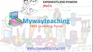 Math Class 7 Chapter 13 Part I|EXPONENTS AND POWERS| EXPONENTS AND POWERS for class 7|