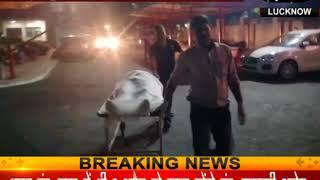 खड़े ट्रक में घुसी स्कूटी, दो छात्रों की मौत और एक घायल
