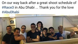 Race 3 Shooting Completes In Abu Dhabi And Now Post Production Will Begin
