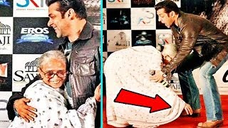 When Salman Khan Met His Birth Care Mother - What Happened NEXT Will Melt Your Heart