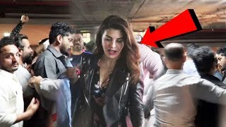Jacqueline Fernandez HARASSED By Fans At Mumbai Airport As She Returns From RACE 3 Shooting