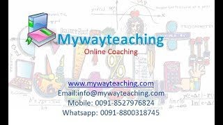 Demo Physics|Online Tuition|Etuition|IIT JEE|mywayteaching|
