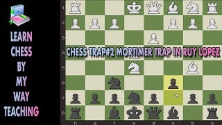 Chess Trap #2 Mortimer in RuyLopez