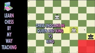 Chess Endgame #4 Queen And King Vs King
