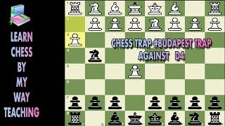 Chess Trap #6 Budapest Trap Against White d4