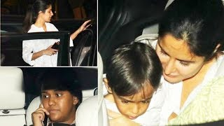 Katrina Kaif Carrying Baby Ahil In Her Arms, Spotted With Salman's Sister Arpita