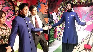 King Shahrukh Khan's WAX STATUE Inaugurated In Madame Tussauds Delhi