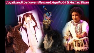 Jugalbandi | Navneet Agnihotri | Arshad Khan | Live painting | Tabla| Sirifort Auditorium