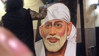 Dubai | Navneet Agnihotri | Live Painting | Sai Bhajan | Mani Manroo Pandit