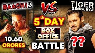 Tiger Zinda Hai Vs BAAGHI 2 | DAY 5 | Box Office Collection