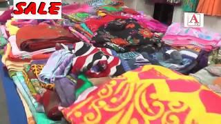 Banaras Saree Sale Kothari Bhavan New Jewargi Road Gulbarga A.Tv  19-8-2017
