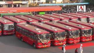 Free Buss Service for Eid Gah's by Ilyas Sait Chairman NEKRTC A.Tv News 1-9-2017