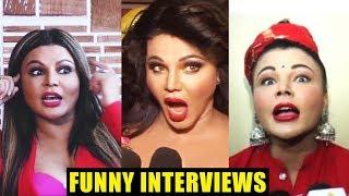 Rakhi Sawant's Funny Interviews Compilation | Hilarious Interviews